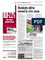 TheSun 2008-12-09 Page04 Residents Will Be Moved to Safer Areas