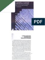 La formación y el desarrollo profesional cap 3 Diversas orientaciones conceptuales en la formaciòn del p