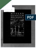 Sakurai Modern Quantum Mechanics