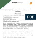 TECNOLOGIAS DE INFORMAÇÃO E COMUNICAÇÃO APLICADAS AO DESIGN