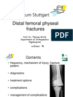 6.3 Distal Femoral Physeal Fractures