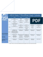 Series 7 Study Calendar