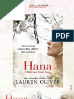 Lauren Oliver - Hana -1