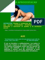 CURSO DE FITOTERAPIA  AFRODISÍACAS