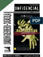 L'H Confidencial, especial 2007. Ley garrote de Joaquín Guerrero-Casasola, Premi L'H Confidencial 2007