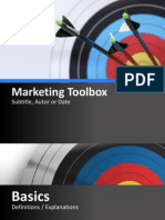 D2531 Marketing-Toolbox en PPT2007-2010
