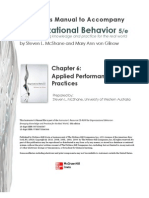 Organizational Behavior Chp 6