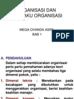 Perilaku organisasi