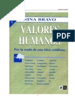 Bravo Donoso, Nina - Valores Humanos