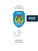 makalah organisasi internasional