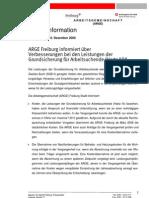Presseerklärung der ARGE Freiburg