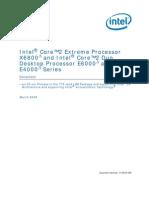 Intel CPU Specs Core2Duo