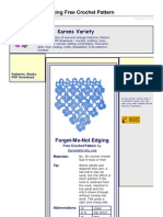 Karensvariety.com-ForgetMeNot Edging Free Crochet Pattern