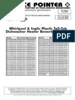 Whirlpool Dishwasher Heating Element Upgrade