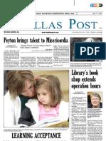 The Dallas Post 04-01-2012
