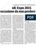 Le proposte per il turismo-1/04/2012-Gazzetta di Parma