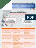Eport Procedure & Documentation