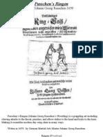(1659) Complete Combat Grappling Manual (Vollständiges Ring Buch)- Johann Georg Passchen