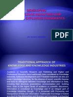 Developing Knowledge Industries Hub in Kerala