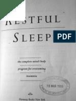 7391353 Restfull Sleep by Deepak Chopra