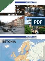 Videobet Internships in ESTONIA (VE)