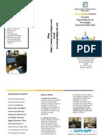 Brochure Escuela Especializada de Tecnología Gerardo Sellés Solá