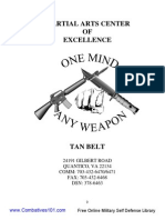(2004) MCMAP MA-01 the Tan Belt Manual