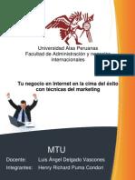 Marketing Para Tu Negocio en Internet Www.tutomundi