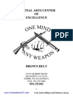 (2004) MCMAP MA-04 the Brown Belt Manual