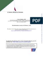 A Cancer Journal for Clinicians [ Cancer Statistics, 2010]