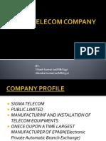 B2B Case Study of Sigma Telecom