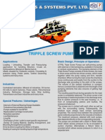 Triple Screw Pumps