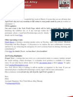 New York Silicon Alley Weekly Newsletter 30-March-2012