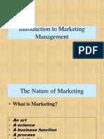Basics of Marketing Management 1