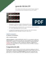 Sistema Categoría 6A 10G 6A UTP