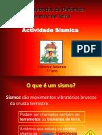 CN7 - Actividade sísmica