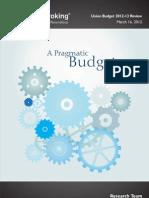 Budget 2012-13 Angel