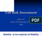 Fall Risk Assessment 081004