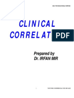IRFAN MIR Clinical Corelations