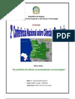 Programa Proviso Rio 2a Confer en CIA Nacional C&T _8 Junho 2011