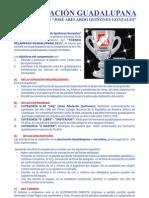 """Torneo """"Reencuentro Guadalupano""""  2012"""