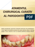 Tratamentul Chirurgical Curativ Al Parodontitelor