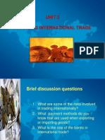 Financing International Trade Slides(1)