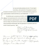 Student's Essay for Portfolio 2