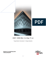 MCFTA Marketing Plan 07-08