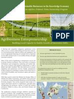 Agribusiness Enterpreneurship