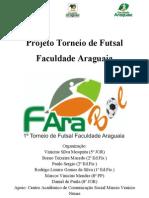 Projeto Torneio de Futsal