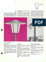 Sterner Decorative Post Top Hexilume Brochure 1974