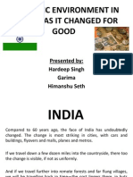 Economic Environment in India-has It Changed for Good