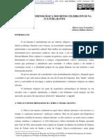 Analise Fenomenologica Dos Ritos Celebrativos Na Cultura Banto